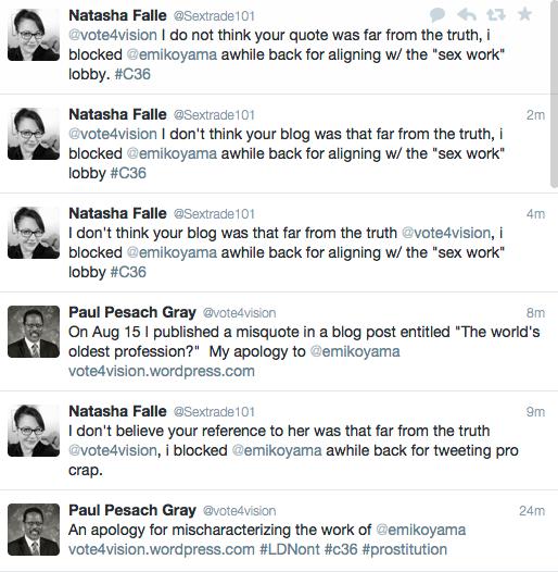 Natasha Falle tweets